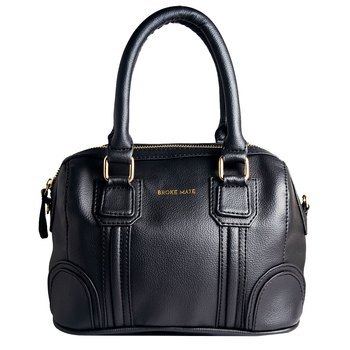 Broke Mate Satchel Sling Bag - Black