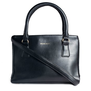 Broke Mate Chic Sling Handbag - Black