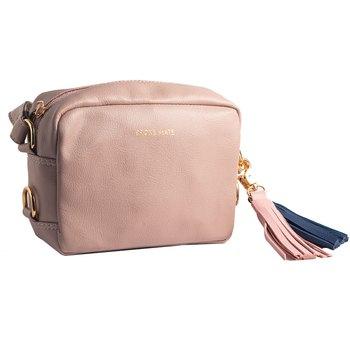 Broke Mate Crossbody Sling Bag - Pink