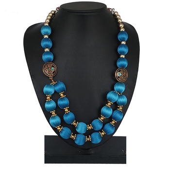 Blue party-jewellery