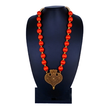 Orange party-jewellery