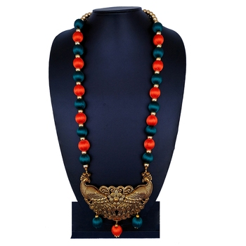 Orange Party Jewellery