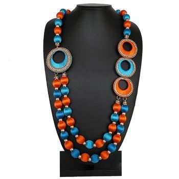 Orange party-jewellery