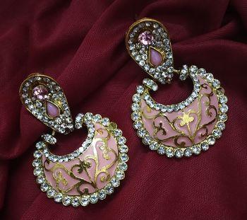 Women National Costume Chandelier Dangling Drop Earring