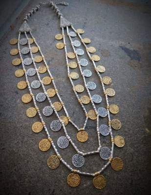 Silver Beaded Jewellery Necklaces