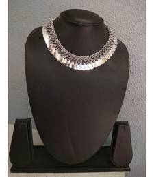 Silver Metallic Chokers