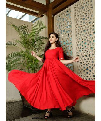 Candy Red tassel Dress