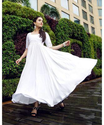 Cloudy White tassel Dress
