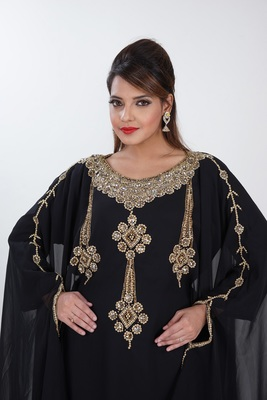 Dubai Kaftan Women Dress Long Gown Farasha Morocco Wear Jalabiya maxi
