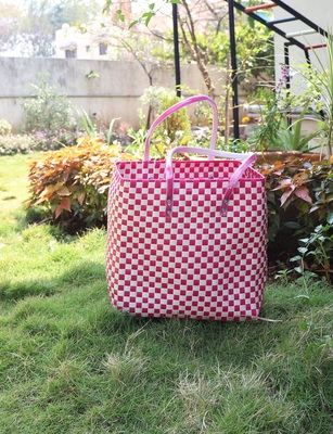 Shopping Travelling Baskets Authentic Hand Crafted Basket Bag Medium