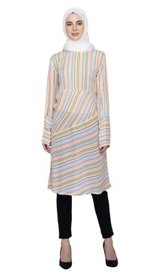 Candy Swirl Dress By Ruqsar