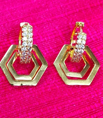 Indo Western Fashion Party Wear Earrings