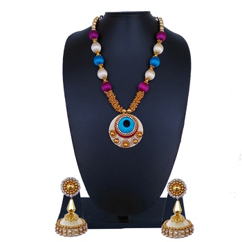 Multicolor statement-jewellery