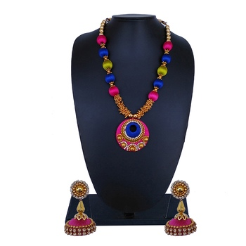 Multicolor statement-jewellery