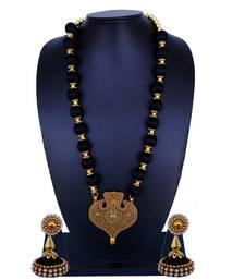 Black Statement Jewellery