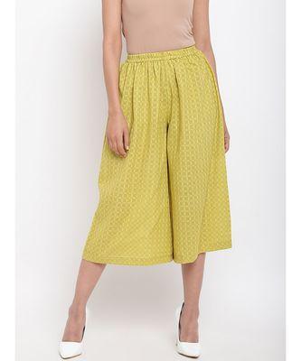 Green Cotton Pant