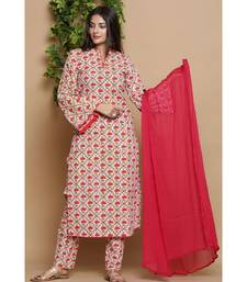 Jaal pink suit set
