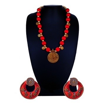 Red Indian Traditional Jewellery
