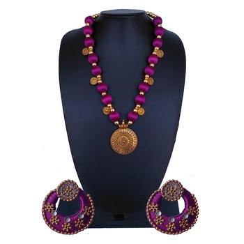 Purple Indian Traditional Jewellery