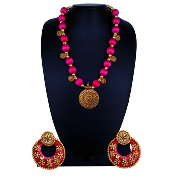 Pink Indian Traditional Jewellery
