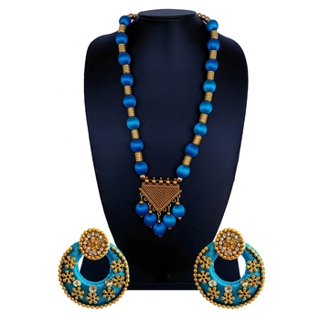 Blue indian-traditional-jewellery