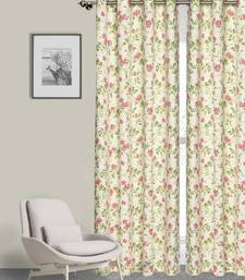 ROSARA HOME Pack of Single Eyelet Cotton Curtain