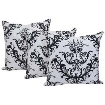Reme  Embroidered Multicolor Cotton Square Decorative Cushion Cover Pillow Case