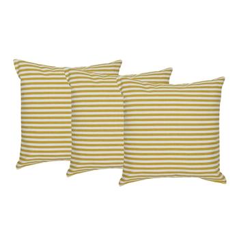 Reme Printed Multicolor Cotton Square Decorative Cushion Cover