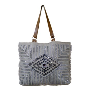 Reme Jute Shoulder Bag For Women