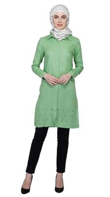 Go Green Tunic By Ruqsar