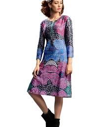 Women's Multi Soft Cotton Fancy Designer Kurtis