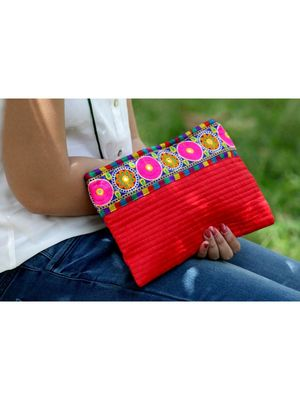 Red Color Sling Bag