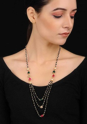 Multicolored Onyx Necklace