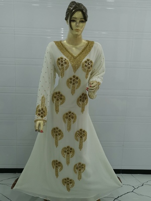 Dubai Kaftan Dress Moroccan Kaftan Dress