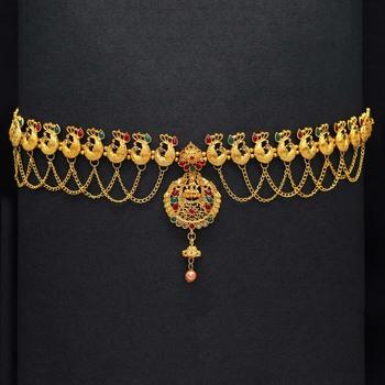 Maroon Waist Belt