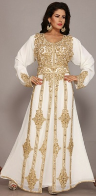 Dubai Kaftan Women Dress Long Gown Farasha jalabiya maxiWear