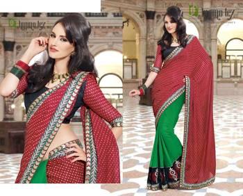 Party Wear Sari Pep1402