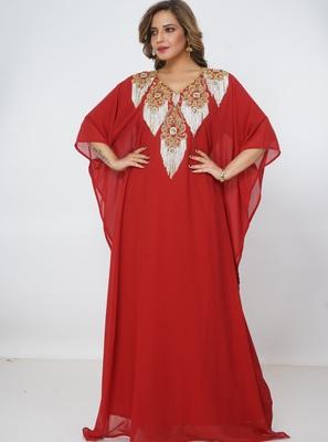 Dubai Kaftan Women Dress Long Gown Farasha jalabiya maxiWear