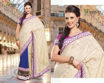 Party Wear Sari Pep1416