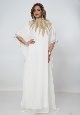 Dubai Kaftan Women Dress Long Gown Farasha jalabiya maxi Wear