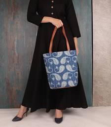 PAISLEY PRINT Fabric Tote Bag