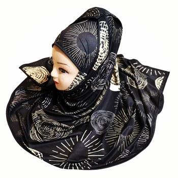 Justkartit Multi Color Digital Printed Casual Wear Hijab Scarf Dupatta For Women