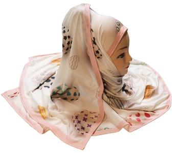 Justkartit Women'S Multi Color Digital Printed Casual Wear Hijab Scarf Dupatta