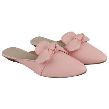 Do Bhai Pink  Mules For Women