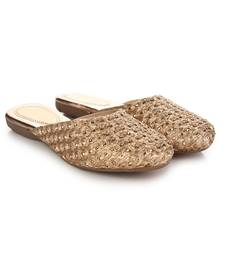 Do Bhai Copper Mules  For Women