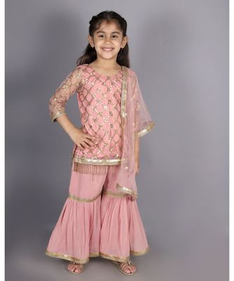 Baby Pink Shara Suit