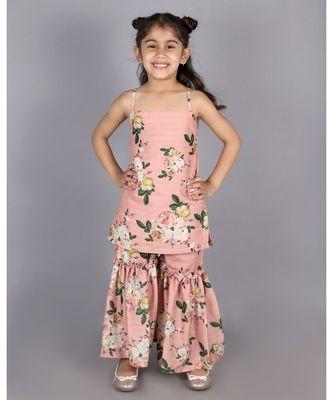 Floral Sharara Set