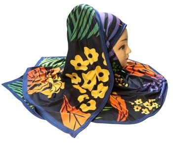 Justkartit Women's Casual Wear Jersey Stretchable Digital Printed Hijab Scarf Dupatta