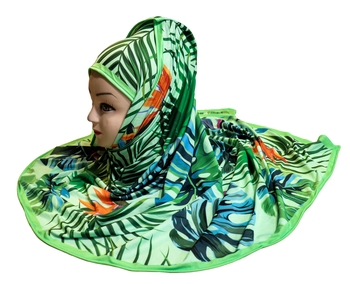 Justkartit Women'S Jersey Stretchable Material Casual Wear Digital Printed Scarf Hijab Dupatta