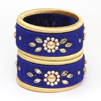 Blue Bangles And Bracelets